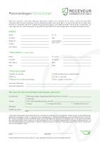 Patientenbogen Kieferorthopädie (Erwachsene)