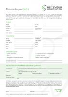 Patientenbogen Kieferorthopädie (Kinder)