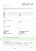 Patientenbogen Zahnarzt